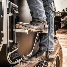 Atlas Door Step Pair For Jeep Wrangler JK JL 2007-2019 Smittybilt 7630