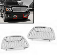 2007+ AVALANCHE SUBURBAN TAHOE CHROME FRONT BUMPER MESH GRILLE GRILL INSERT NEW
