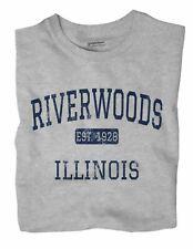 Riverwoods Illinois IL T-Shirt EST