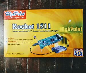 HighPoint Tech Rocket 1511 Single External Channel Serial ATA Host Adapter