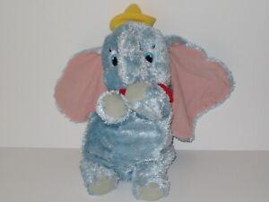 "Dumbo Plush 20"" Fisher Price Mattel Disney Stuffed Animal Flying Elephant 2002"