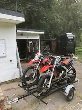 Aprilia RX 50 road legal 50cc enduro bike X 2 (trailer is being sold separately)