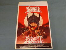 ORIGINAL MOVIE POSTER / AFFICHE - THE ARCHER AND THE SORCERESS