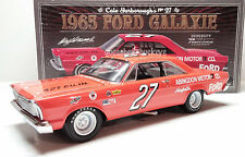 """CALE YARBOROUGH #27 1965 FORD GALAXIE ABINGDON MOTOR CO. """"AUTOGRAPHED"""""""