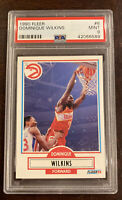 1990-91 Fleer Dominque Wilkins #6 PSA 9 🏀⭐️🔥