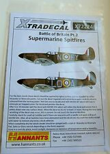 Xtradecal 1/72 X72224 Spitfire Mk I 'Battle of Britain' set 2 Decals