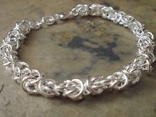 Damen Armband - Fb Silber - plattiert Brautschmuck Hochzeit 0448