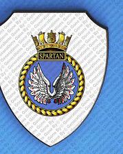 HMS SPARTAN WALL SHIELD
