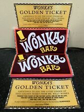 Willy Wonka Chocolate Bar Gift Novelty Item Golden Ticket Christmas Filler Santa