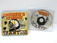 Chicken's Revenge PC 2005 Windows Win 98 2000 ME XP COMPUTER Shooter Video Game