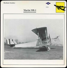 Martin MB-1 - Aircraft - D1 075 51.02 - Edito Card