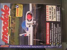 ** modèle magazine n°543 Plan encarté L'Acroflop / OS 140 RX / Robin de FDL