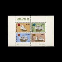 Portugal, Sc #1479a, MNH, 1980, S/S, Ships, Boats, Stamp Expo, GID-A