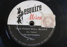 78 rpm FEB SEPTEMBER old piano roll blues / spain
