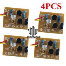 4PCS Light-Control Sensor Switch Suite DIY Electronic Trainning Student Study