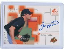 1999 UPPER DECK SP SIGNATURE EDITION AUTOGRAPH AUTO RYAN MINOR ORIOLES *53287