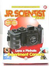 Lens & Pinhole Experiment Camera Science Kit Jr Scientist Images Pictures  62002