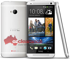 USED | HTC One M7 | 32GB | Silver Smartphone | Camera Fault