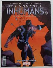 New The Uncanny INHUMANS #0 SIGNED Marvel Poster  CHARLES SOULE  2016 WONDERCON