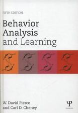 Behavior Analysis and Learning : Fifth Edition by Carl D. Cheney and W. David...