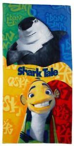 Shark Tale Don & Oscar Beach Towel