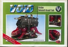 VOID  1.1 Viridian Behemoth Fire Support Assault Tank MINT Factory Sealed IKore