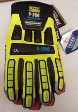 RINGERS GLOVES 266-10 Large Green Super Cuff(R) Cuff Impact Gloves