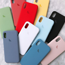 Funda Silicona Logo Manzana compatible Iphone 7 / 8 / SE / 11 / Pro Max Colores