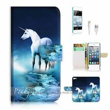( For iPod 5 / itouch 5 ) Flip Case Cover! P1196 Unicorn