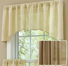 Window Curtain Jabot Valance - Courtland in Taupe by Park Designs