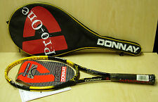 = DONNAY Racquet 1990's NOS (New Old Stock) Donnay PRO ONE SM YELLOW SL3