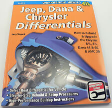 SA253 Jeep, Dana & Chrysler Differentials How To Rebuild Rear Ends Set Up Gears