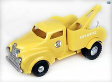 Awesome Original Restored Vintage 1950 'Lincoln Tonka White Rose' Tow Truck