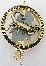 Brevet Commando AGUERRISSEMENT ZONE DÉSERTIQUE F.F.D.J FFDJ 5°RIAOM & LÉGION