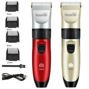 Professional Hair Clippers Cordless Trimmer Shaver Mens Child Cutting Barber Set