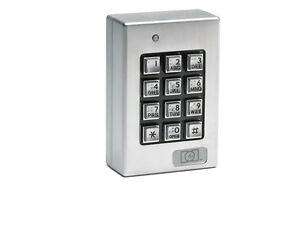 Linear 212SE, 0-212140 Indoor / Outdoor Surface-mount Weather Resistant Keypad