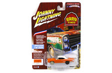 Johnny Lightning Dodge Coronet Super Bee 1970 Orange Jlcp7081 1/64