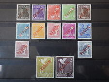 14x Stamps GERMANY Overprint overload BERLIN Mid 21-34 1949 New New MH