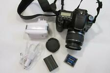 Canon EOS 30D 8.2MP Digital-SLR DSLR Camera with EF-S 18-55mm Lens +CF - BLACK