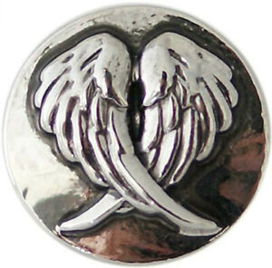 Snap Jewelry Angel Wings Double 18-20mm Fits Ginger Style Charms Accessories New