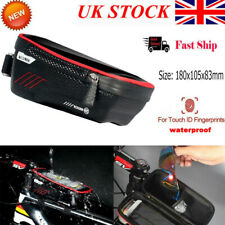 Waterproof Bike Frame Front Bag Pannier Bicycle Mobile Phone Touch Screen Holder