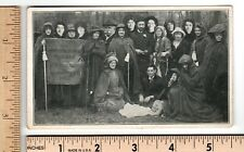 Suffrage Post Card YE VOTES FOR WOMEN PILGRIMAGE NYC to DC Printed real photo