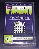 Yes Minister la Série Complète + Yes Pimaire Mini Relais 1 DVD Neuf & Ovp
