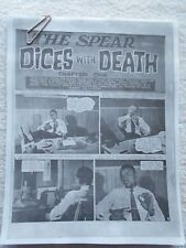AFRICAN FILM Magazine # 1-THE SPEAR-DICES WITH DEATH-LANCE SPEARMAN-1968-EXACT C