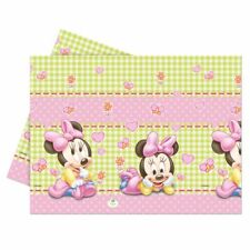 Baby Minnie Mouse Plastic Party Table Cover 120cm by 180cm Disney Gift