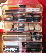 Acrylic Makeup Organizer Chest, eDiva ~ Roomy w/5 Drawers, Completely See-Thru