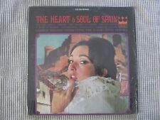 THE HEART & SOUL OF SPAIN  VINYL RECORD LP / 1960's GEORGE NIELSON