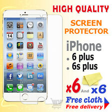 6 Screen Guard Clear Screen Protector For Apple iPhone 6 Plus iPhone 6S Plus
