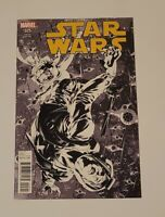 STAR WARS #25 (01/2017) NM Mike Deodato 1:100 Sketch Variant HAN SOLO MARVEL