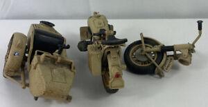 Polistil BMW Army Motor Bike Model MS110 R75 Made In Italy Vintage - Parts (J1)